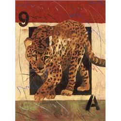 Elizabeth Matrozos Leopard Art Print On the Prowl II