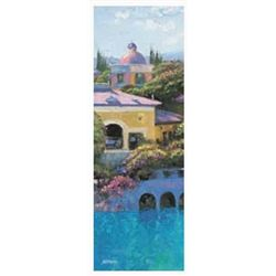 Howard Behrens Art Print Lago Bellagio Panel II