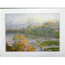 Claude Monet Les Tuilerie French Impresionist Art Print