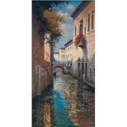 Hoovier Art Print Venetian Dreams II