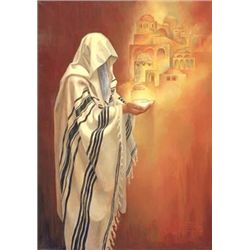 Deborah Kotovsky Art Print Jerusalem Prayer