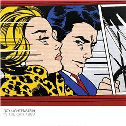 In the Car 1963 Roy Lichtenstein Art Print