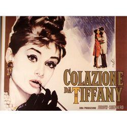 Colazione da Tiffany Movie Poster Le Parisien Art Print
