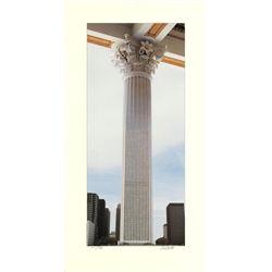 Scott Mutter Gold Column Signed Art Print 1986