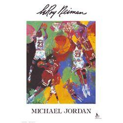 LeRoy Neiman - Michael Jordan