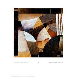 Richard Hall Art Print Geometric Garden