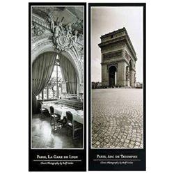 2 Ralf Uicker Photo Prints Paris, Arc De Triomphe