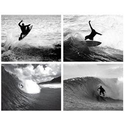4) Surfing Prints- Airborne Wild Ride Pipeline II & III
