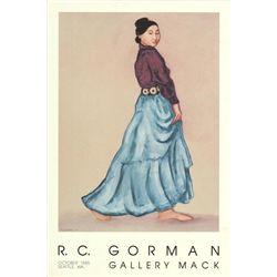 RC Gorman Sister Rose 1985 Art Print