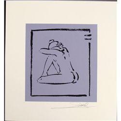 Alfred Gockel Serigraphs Don't Cry Art Signed Print