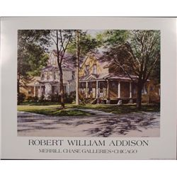 Robert William Addison Fine Art Poster Old House -Chase