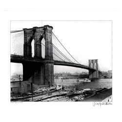 Brian Merlis Brooklyn Bridge New York 1910 Giclee