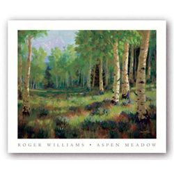 Roger Williams Art Print Aspen Meadow