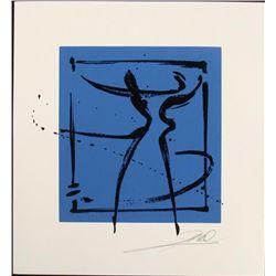 Alfred Gockel Serigraphs Duo Dancing Art Signed Print