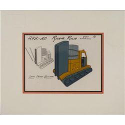 Richie Rich Orig Animation Production Model Cel 1980