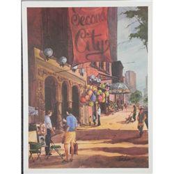 Tom Lynch Old Time Charm Art Print