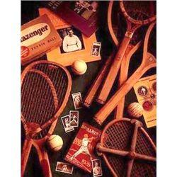 Michael Harrison Tennis Sport Art Print