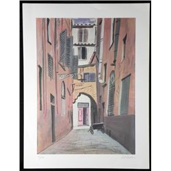 Art Seiden Signed and Numbered Lithograph Print