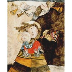 Graciela Rodo Boulanger : Madone aux Trois Anges