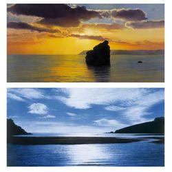 2 Wendy Corbett Ocean Photo Prints The Tide, Evening