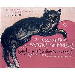Theophile Alexandre Steinlen : Cat (2e Exposition)