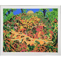 Jon D'Orazio Signed Art Print Dusty Miller Leaves Trees
