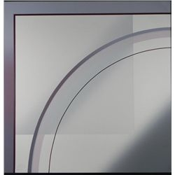 Mati Signed Geometric Art Print Espacio I