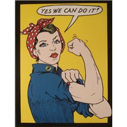 Tee Buzz : Yes We Can Do It! Art Print
