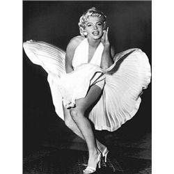 Sam Shaw Foil Art Print Marilyn Monroe, The Legend