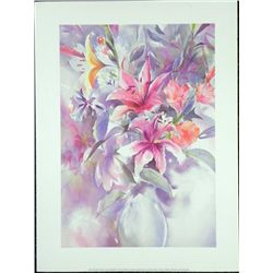 Lisa Valbuena Art Print Bouquet Still Life