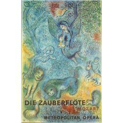 Marc Chagall Die Zauberflote The Magic Flute Art Print