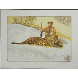 Allan Mardon Friends At Last S/N Lithograph Print