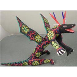 Francisco Melehor Original Lizard Sculpture Mexico