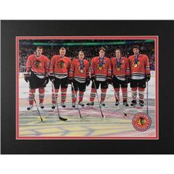 Blackhawks Olympic Team Photo Toews, Miller, Keith