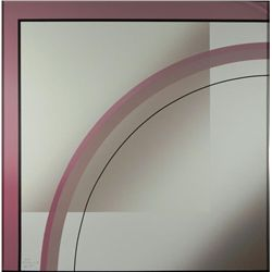 Mati Signed Geometric Art Print Espacio II