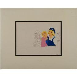 Dutch Boy Paint Commercial Orig Production Cel, Drawing