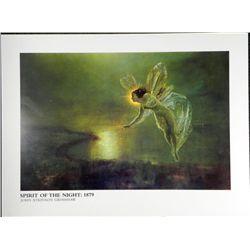 John Atkinson Grimshaw Spirit of the Night Art Print