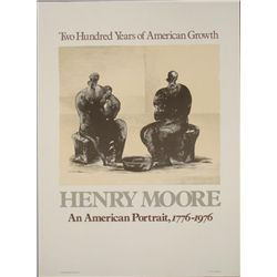 Henry Moore : An American Portrait Exhibition Art Print