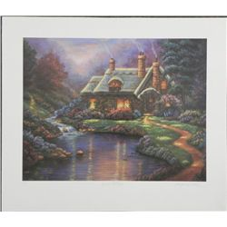 Georgina Noble Spring Cottage Signed Lithograph AP