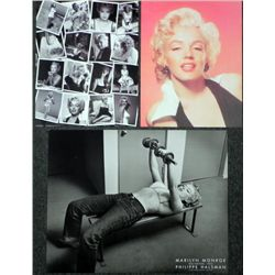 3 Marilyn Monroe Photo Prints Collage, Weightlifting