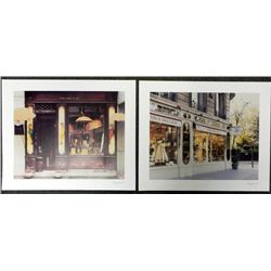 2 Ray Hartl Photo Art Prints Umbrella Shoppe Gowns and