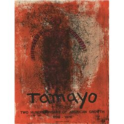 Tamayo Two Hundred Years American Growth Lithograph