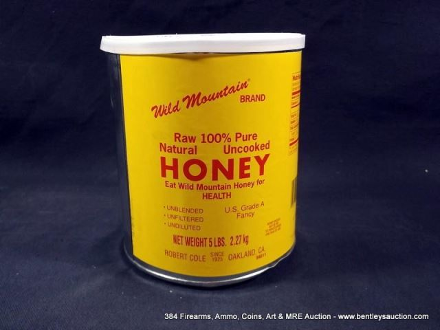 3639 - WILD MOUNTAIN RAW 100% PURE NATURAL UNCOOKED HONEY