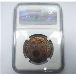 Australia 1914 Penny - NGC MS64BN