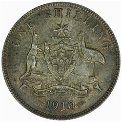 Australia 1910 Shilling - NGC MS64