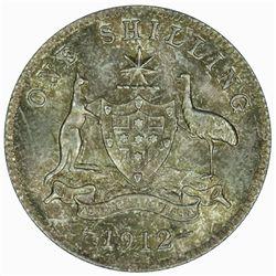 Australia 1912 Shilling - NGC MS63