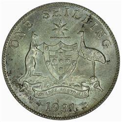 Australia 1931 Shilling - NGC MS65