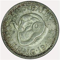 Australia 1942 Shilling - NGC MS63