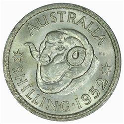 Australia 1952 Shilling - NGC MS64