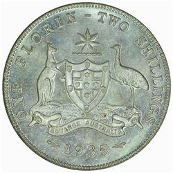 Australia 1935 Florin - NGC MS64